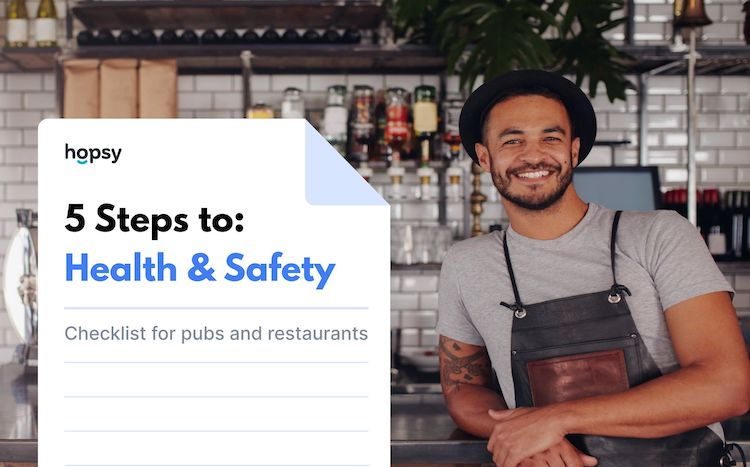 Health and safety checklist for pubs and restaurants in 5 steps