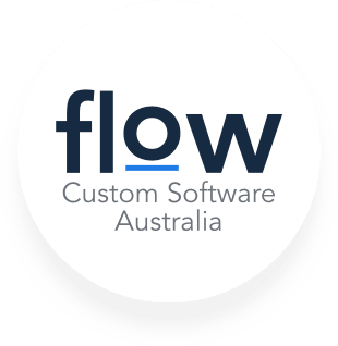 Flow Custom Business Software Logo