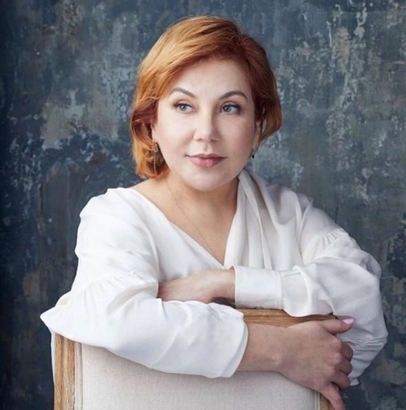Актриса Марина Федункив предпочитает естественное старение