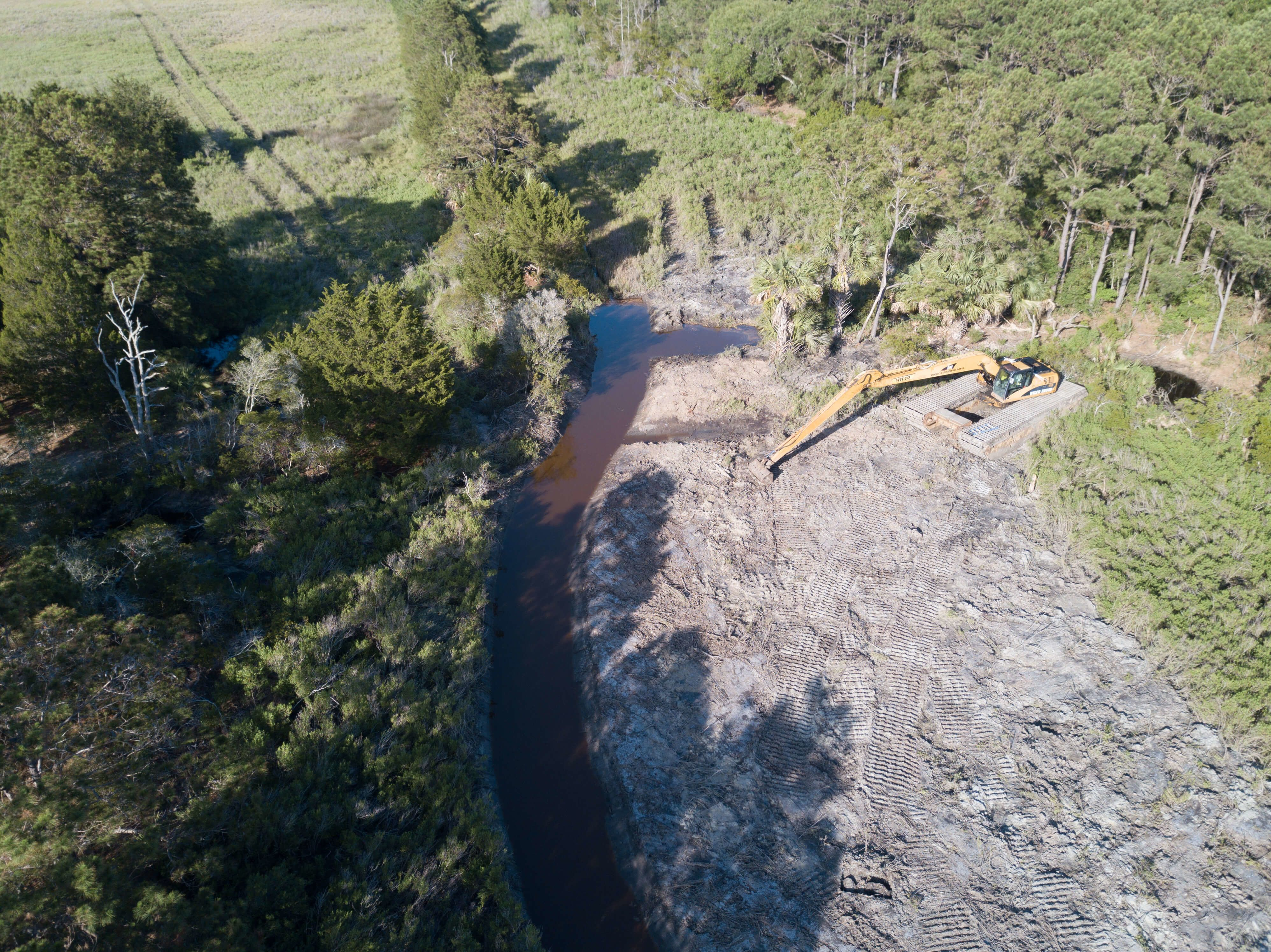 Lake Timicau Restoration Project Begins