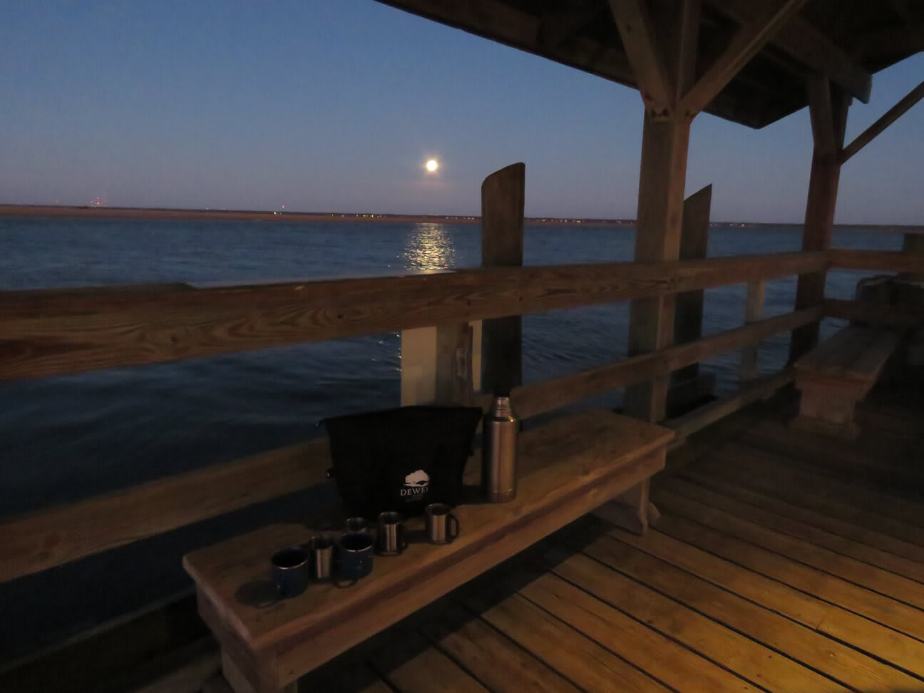 Super Blue Moon: Dewees Loves a Celebration