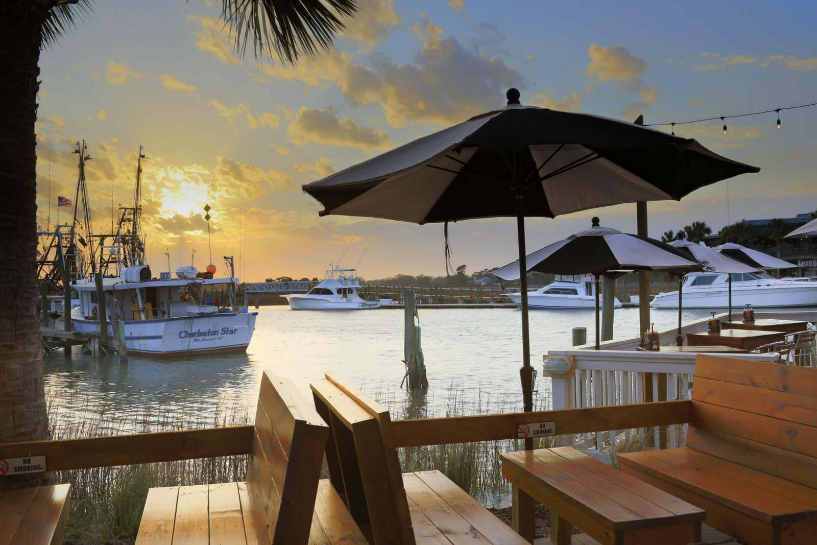 Spend an Afternoon on the Creek at Saltwater Cowboys