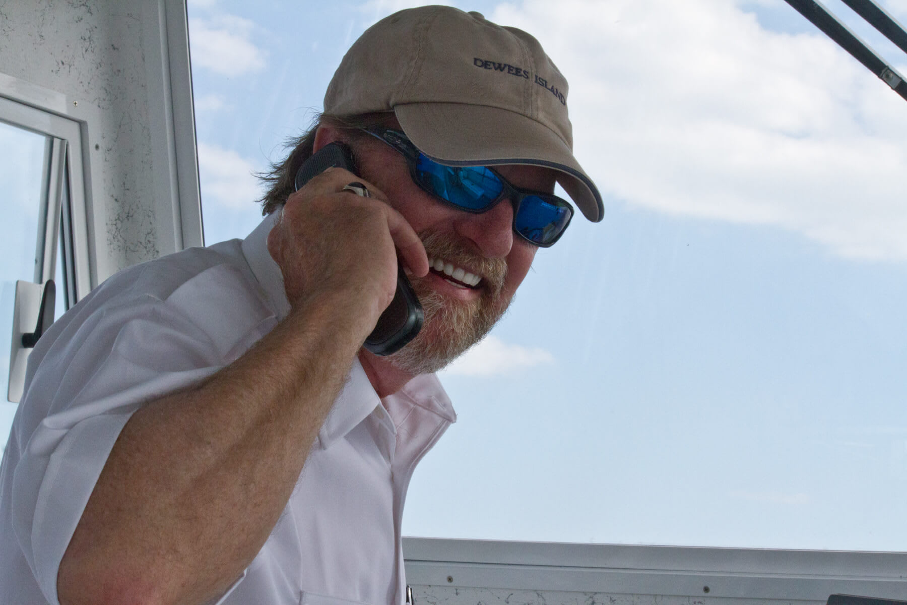 Captain Rick Profiled in the Island Eye News