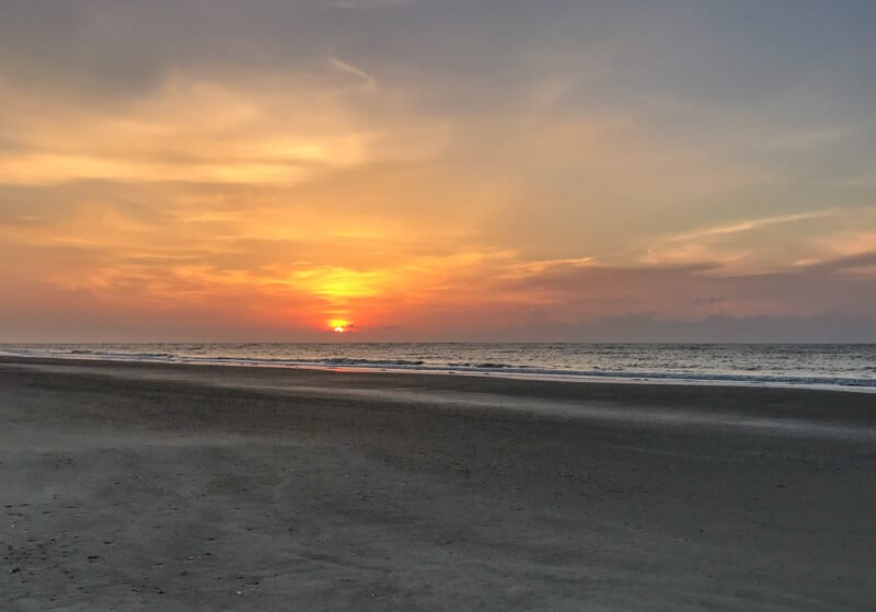 Easter Sunrise at the Beach