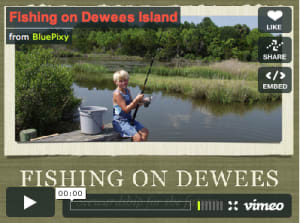 Fishing on Dewees Island