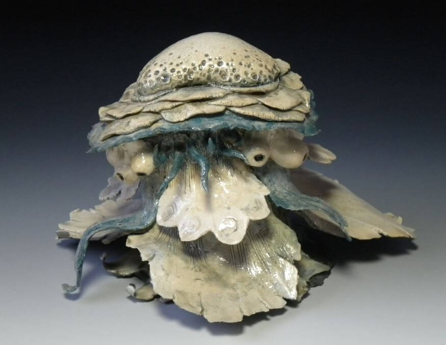 "Art Show Saturday features both Charlie Evergreen Ceramics and Encore for ""Coastal Colors"" Exhibit"