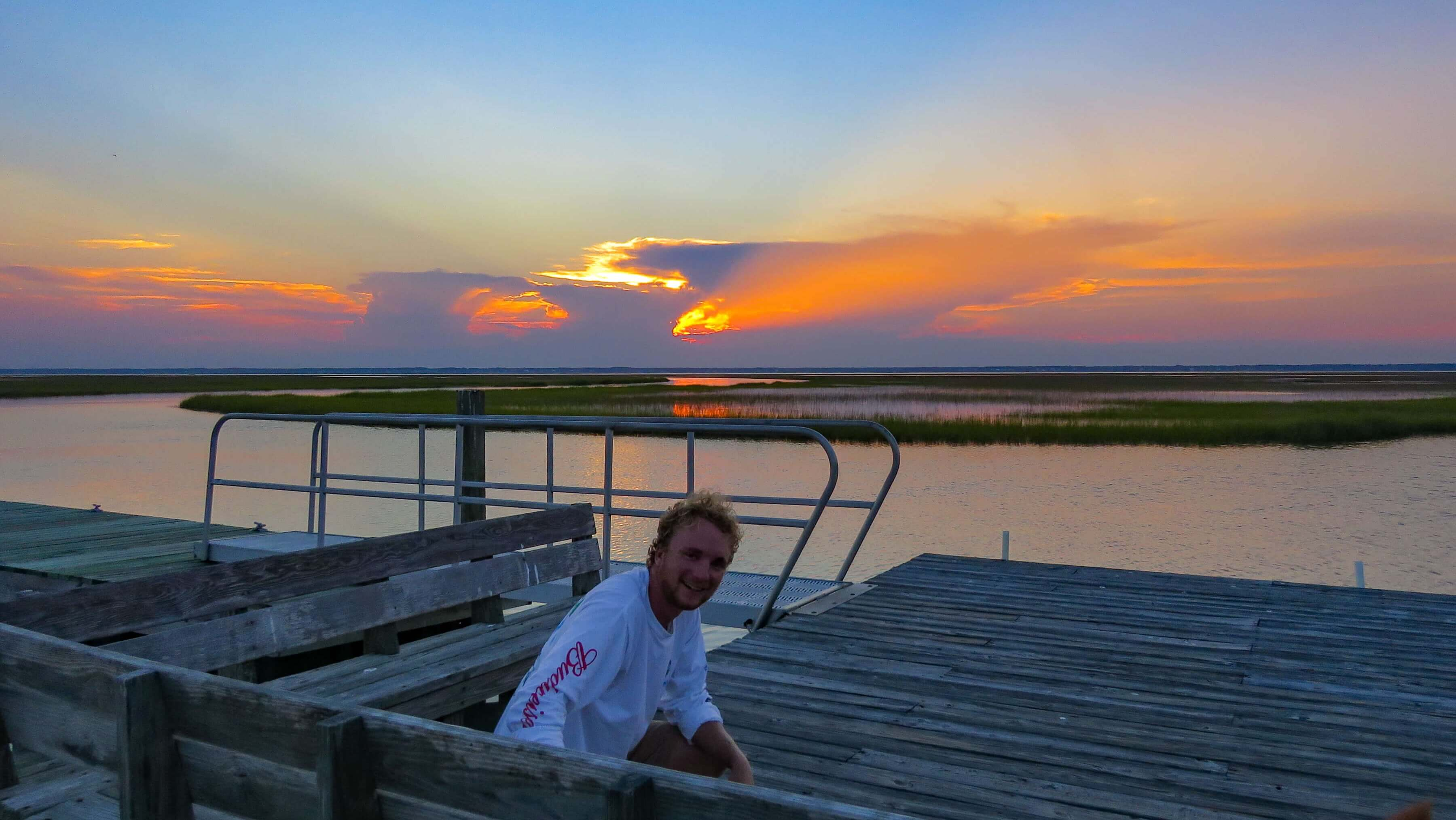 Read more about the article An Evening at Big Bend Dock