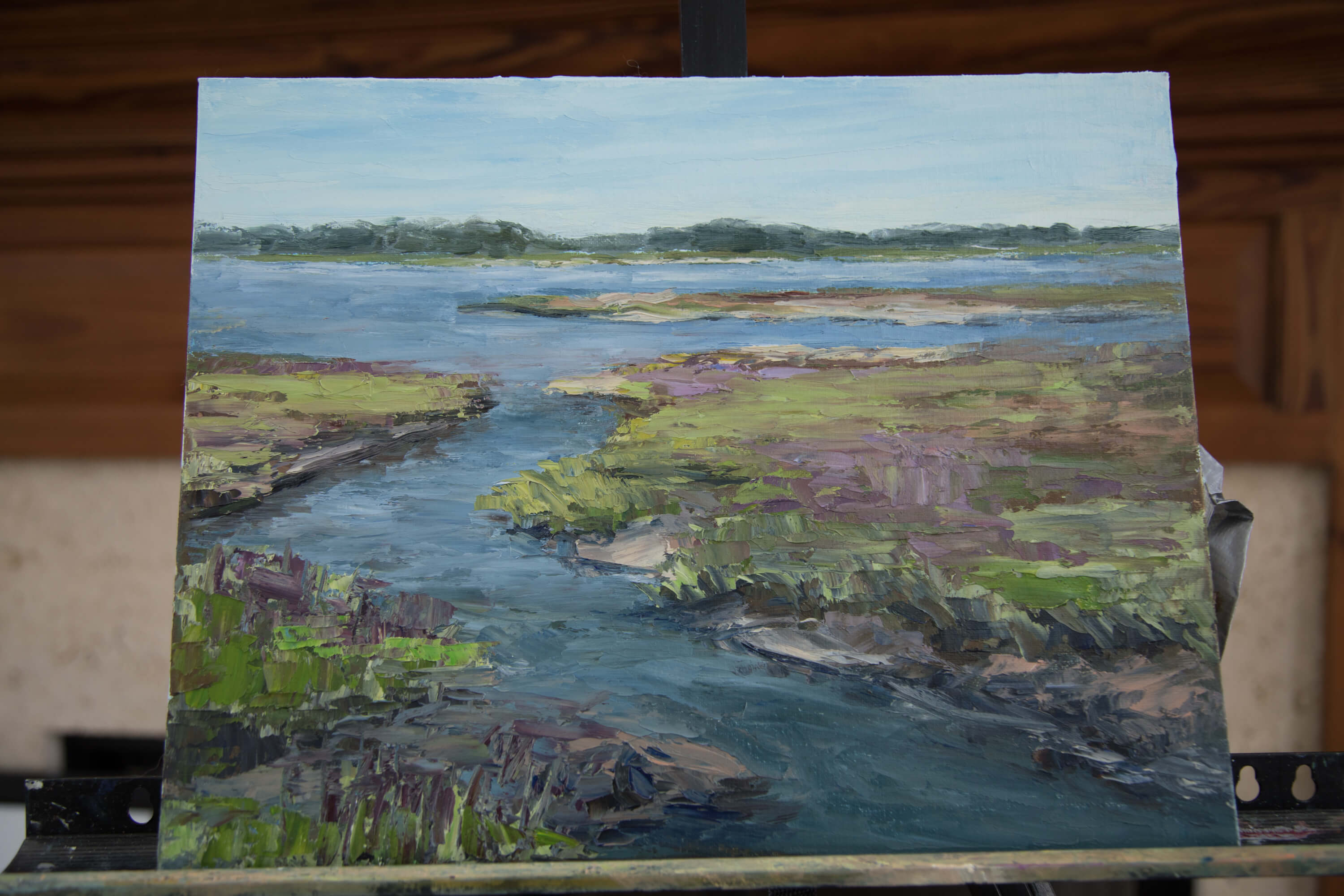 You are currently viewing Local Artist Sheryl Stalnaker leads Plein Air Workshop