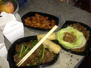 PF Changs food delivery