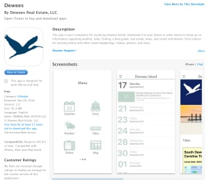 New Dewees Island App is ready for Download