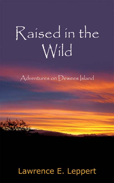 Book Cover art for Raised in teh Wild