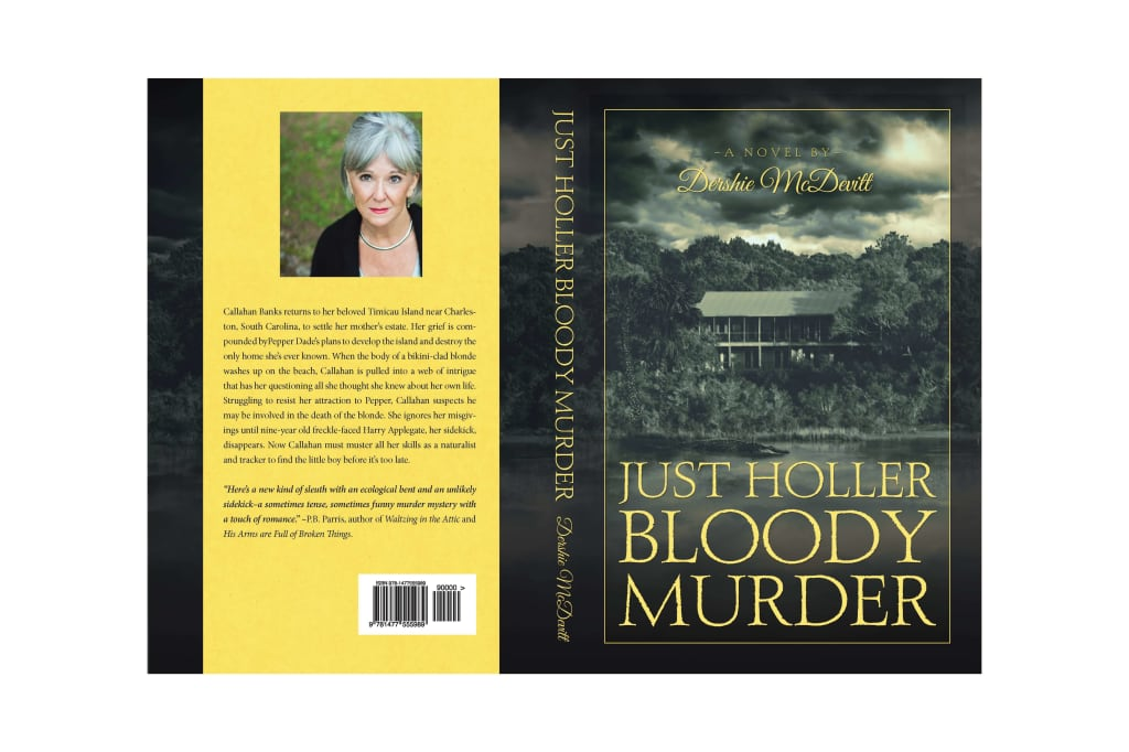 Just Holler Bloody Murder Book Cover