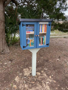 Read more about the article Our Little Free Library is Up and Running!