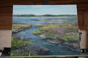Read more about the article Local Artist Sheryl Stalnaker leads Plein Air Workshop