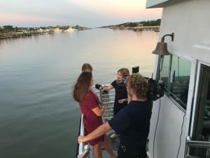 Read more about the article News 2 Covers Start of Dewees School Year: 8 kids on the ferry this year