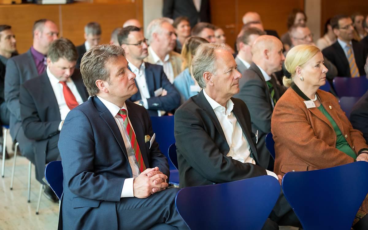 Alice Rethwisch, Dr. Christian Scharff, Päsidium Deutsche Wildtier Stiftung, Hilmar Freiherr von Münchhausen, Geschäftsführer Deutsche Wildtier Stiftung.