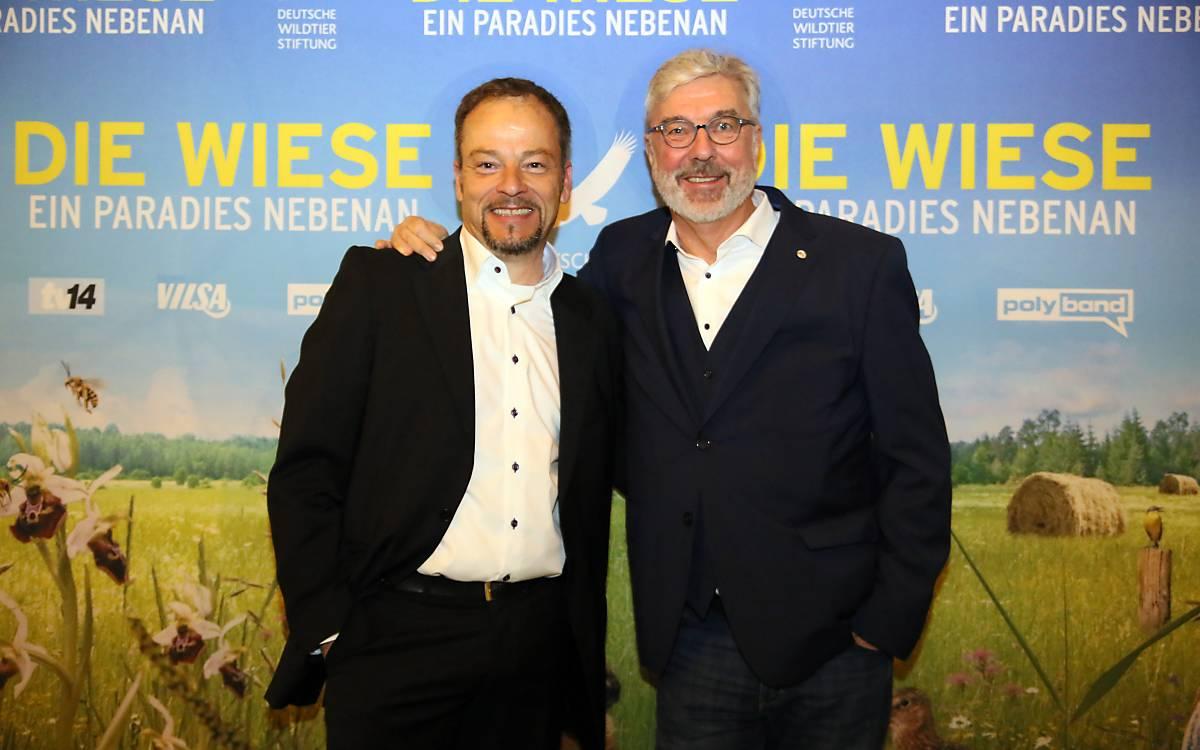 Jan Haft, Regisseur (l.) und Michael Miersch, Geschäftsführer Kommunikation und Bildung, Deutsche Wilditer Stiftung.