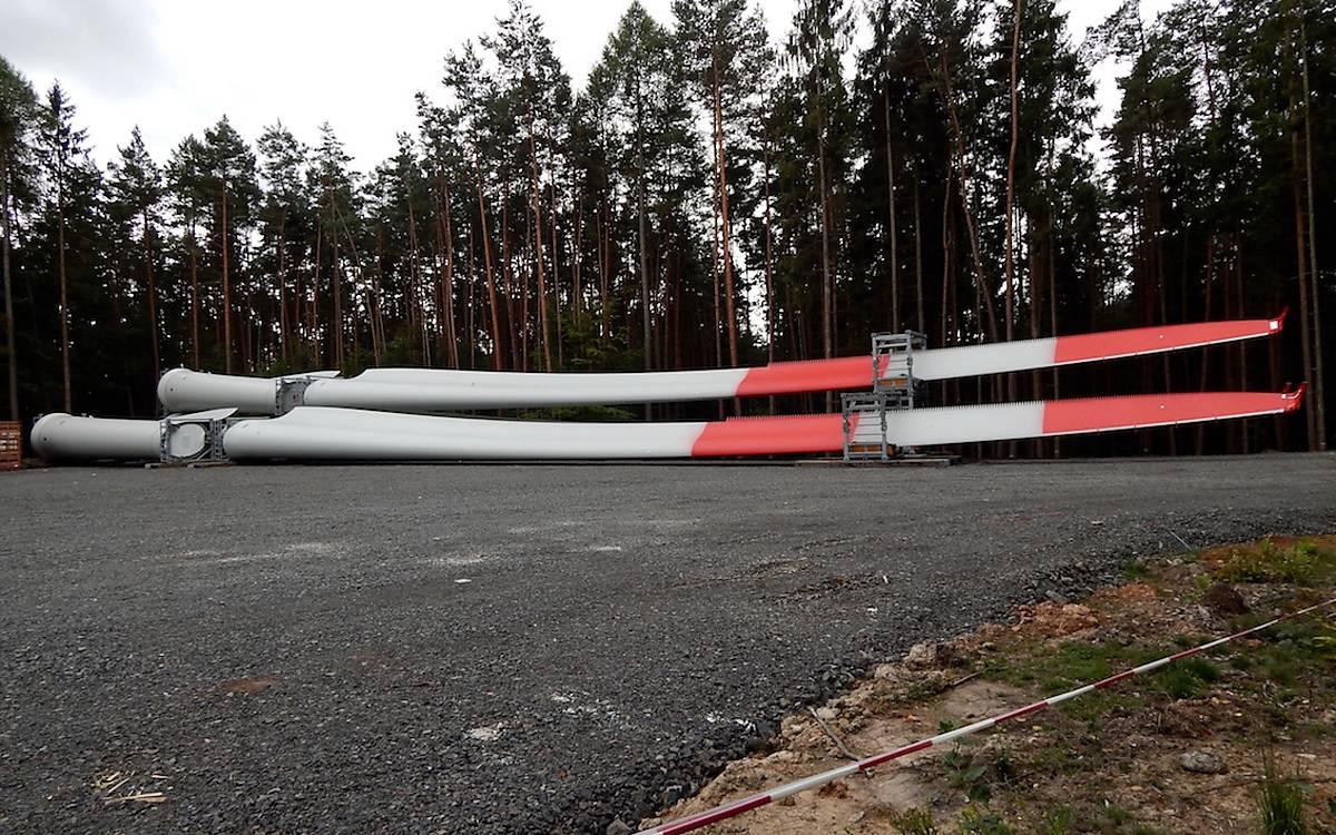 Flächenversiegelung gehört zum Ausbau von Windenergie (Symbolfoto: A.Decher-Wahby / Deutsche Wildtier Stiftung)
