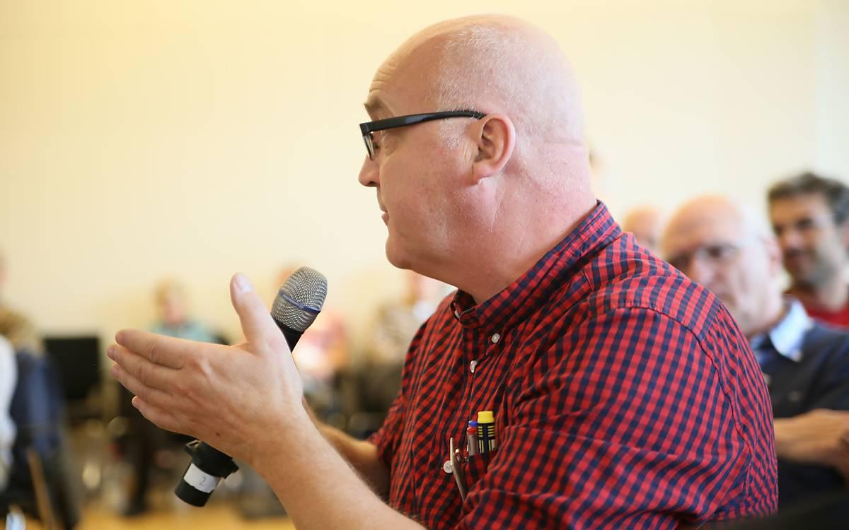 Uwe Lerch vom DVL stellte die agrarpolitischen Empfehlungen vor -  DeWiSt / Mo Camara