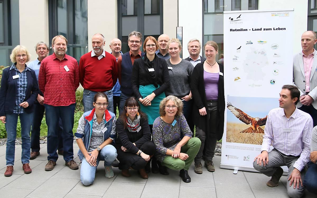 Projektteam Rotmilan-Land zum Leben Foto: DeWiSt / Mo Camara