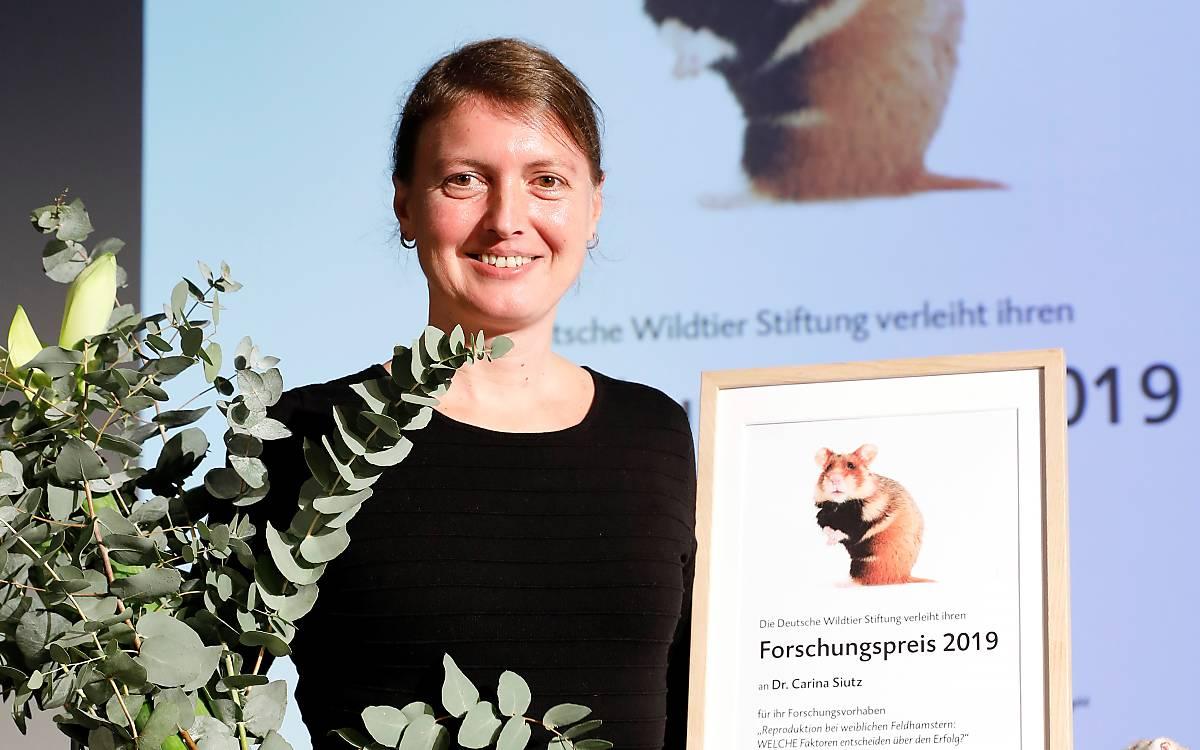 Mag. Dr. Carina Siutz, Gewinnerin des Forschungspreises 2019. Foto: Andreas Costanzo