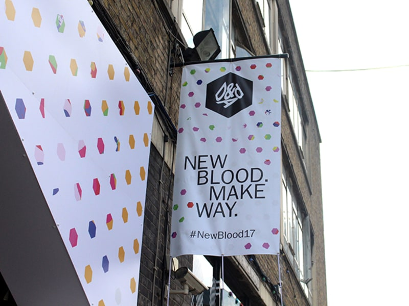 New Blood Make Way #NewBlood17