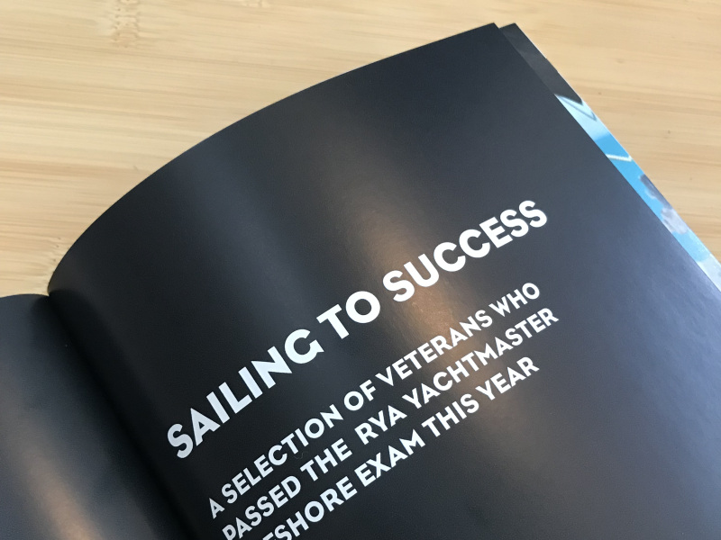 Turn to starboard sailing to success impact report page