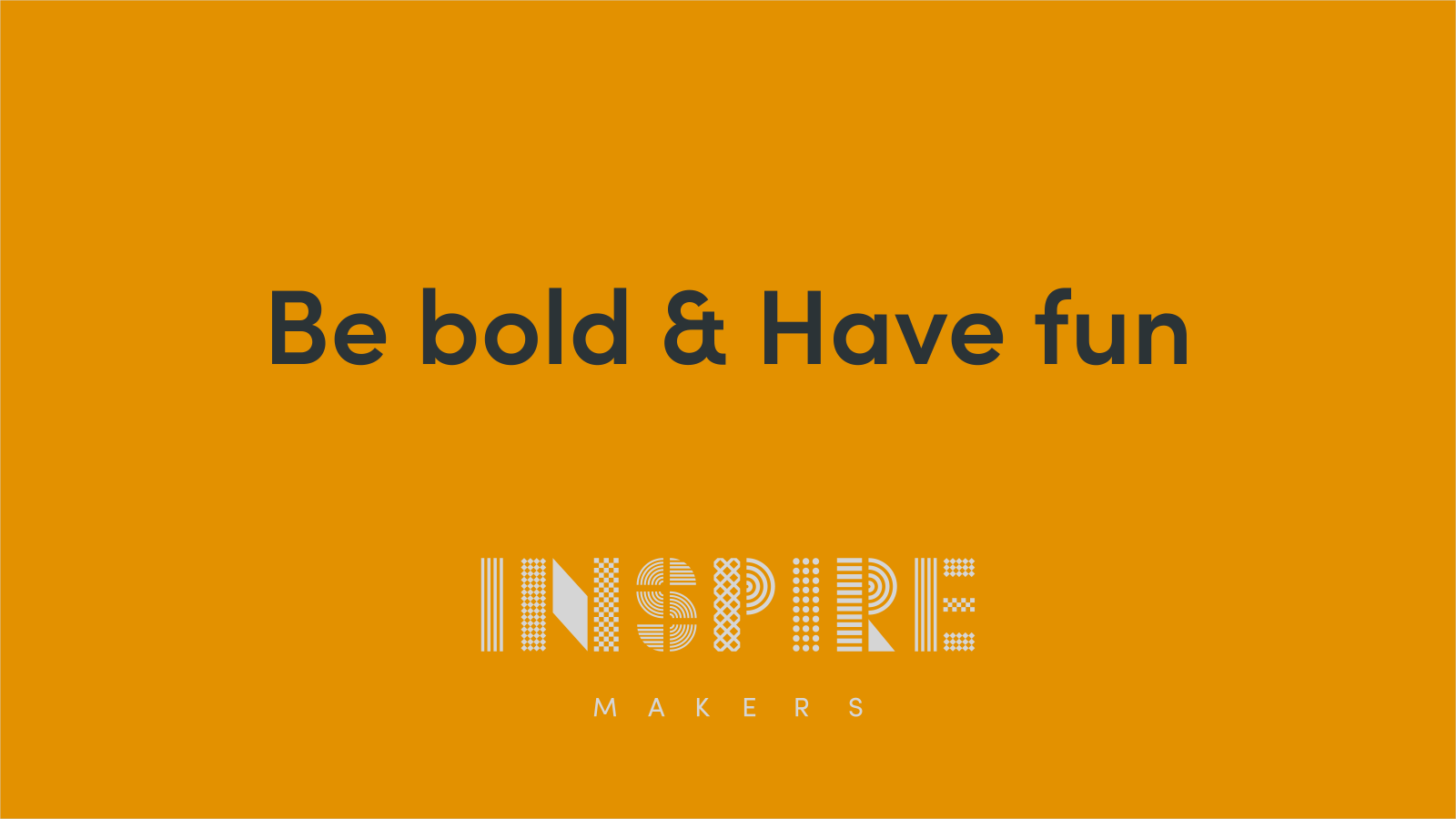Inspire Makers Brand guidelines - back cover