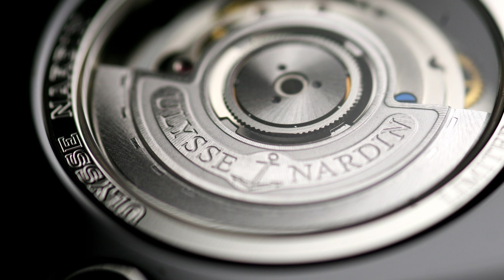 Up close shot of a Ulysse Nardin cell phone