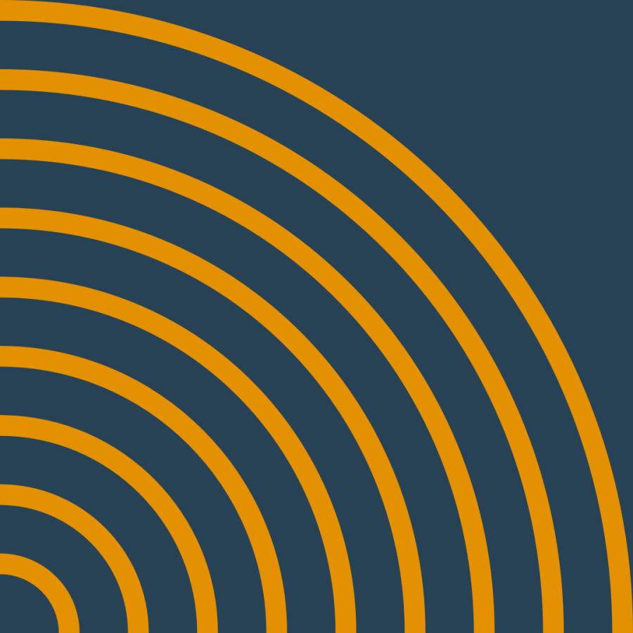 Blue Pattern Circles Cropped
