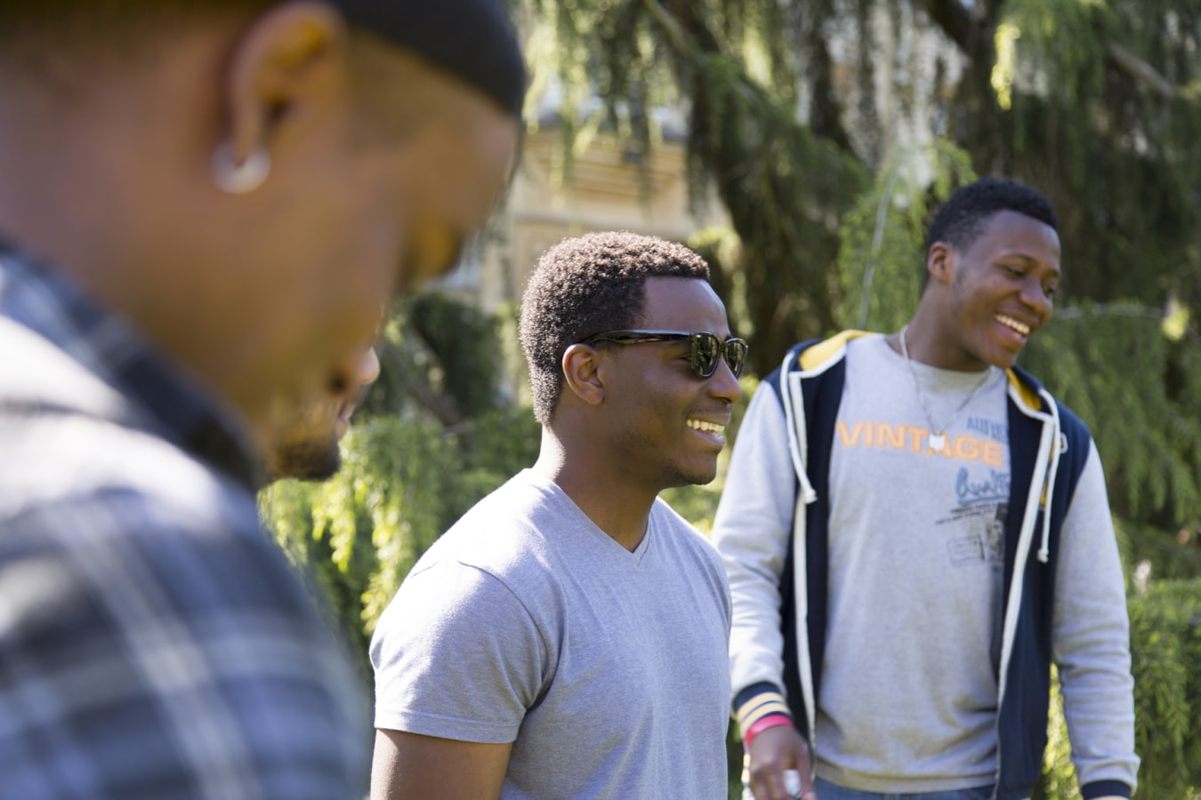 Richmond University image of a man in sunglasses smiling
