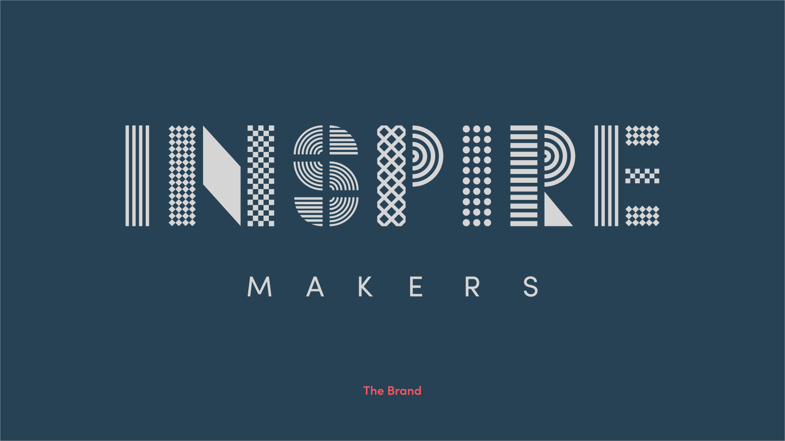Inspire Makers Brand guidelines - cover