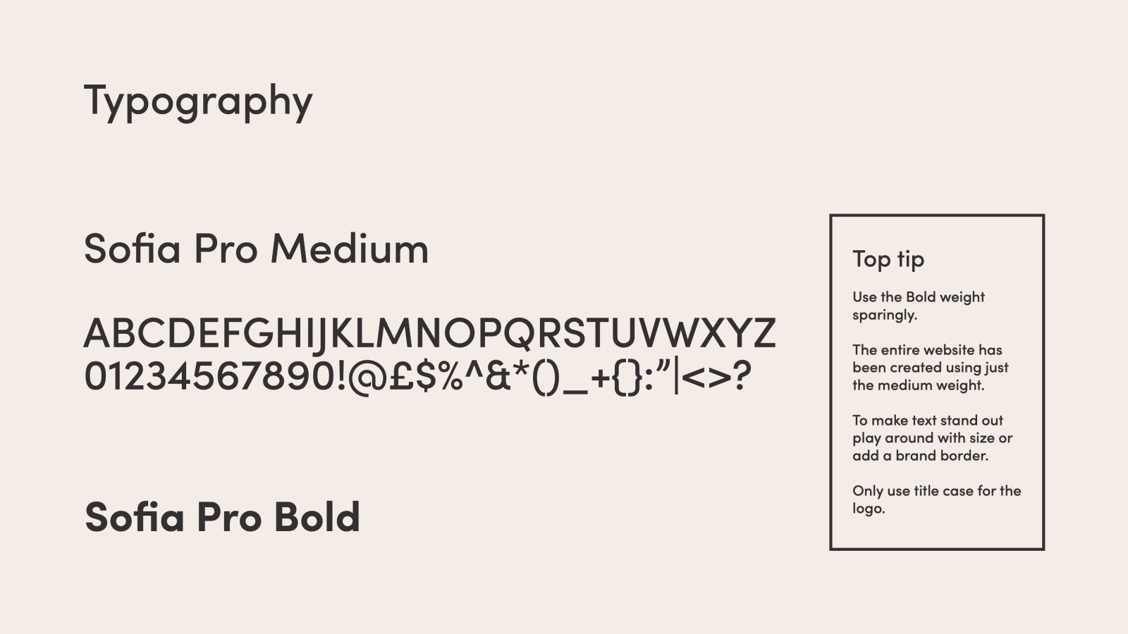 The Joy of Stamps Typography