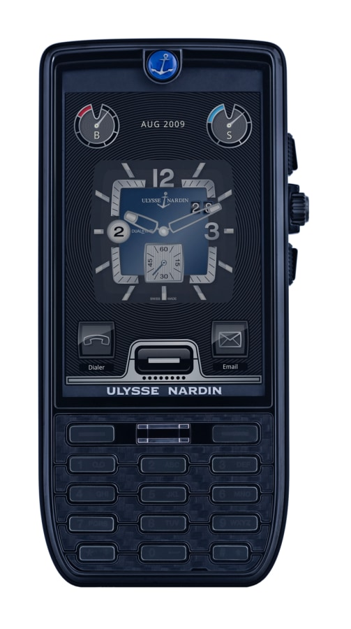 Ulysse Nardin cell phone in black