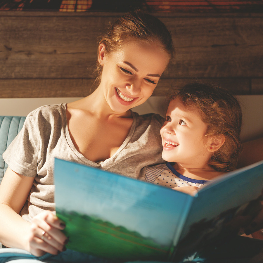 IVF Matters Parent reading to Child