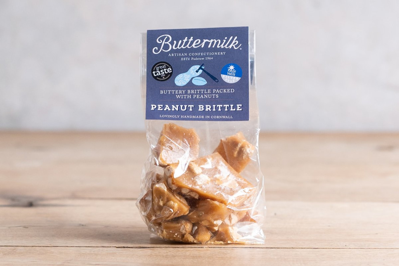 Buttermilk Peanut Brittle