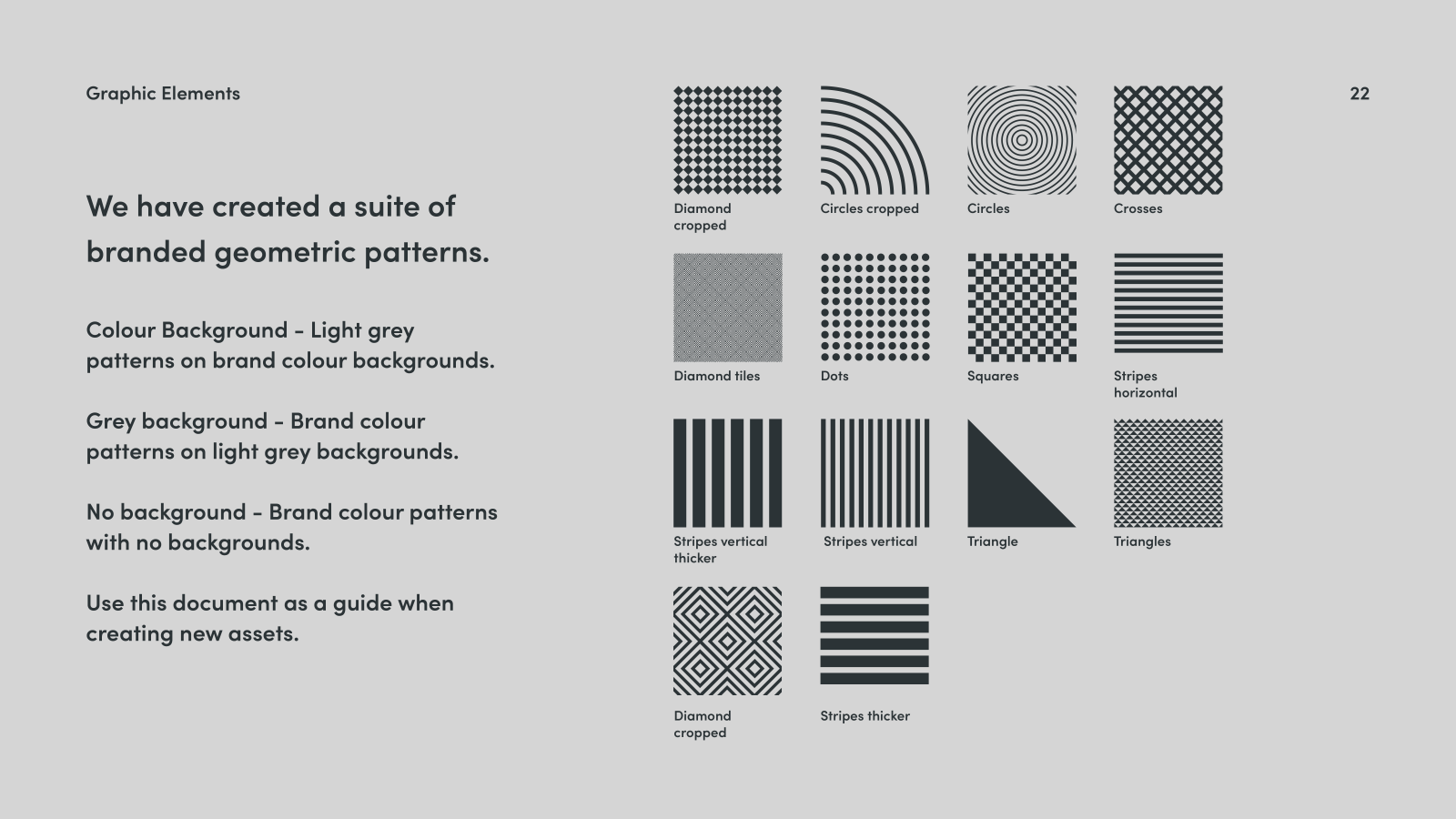 Inspire Makers Brand guidelines - patterns