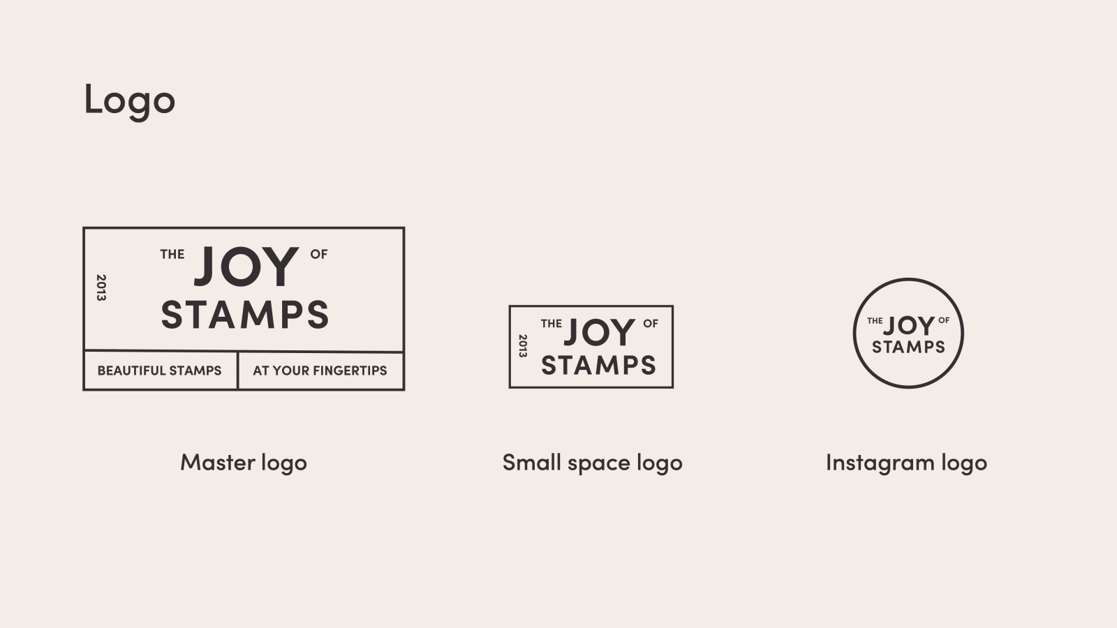 The Joy of Stamps Logo