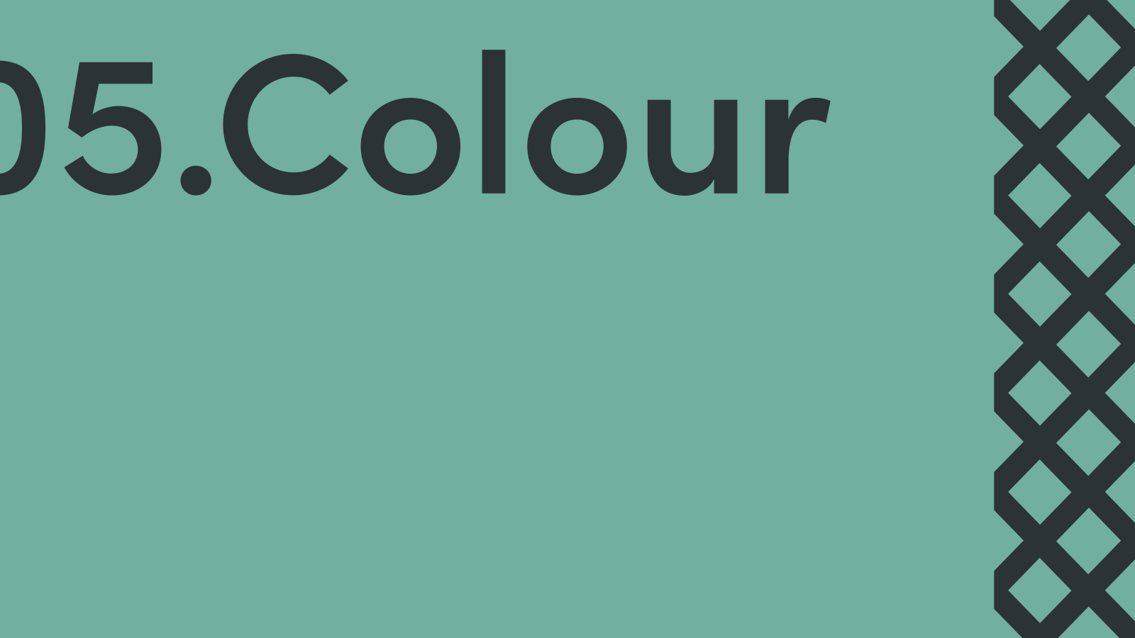 Inspire Makers Brand guidelines - colour