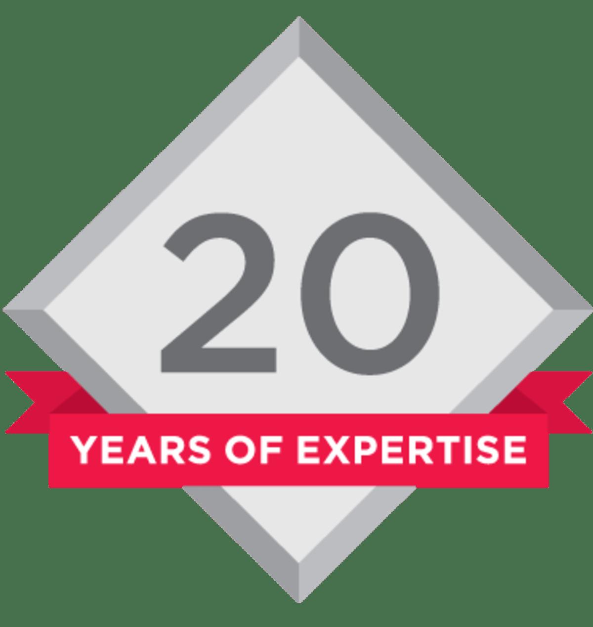 Milestone 25th Logo
