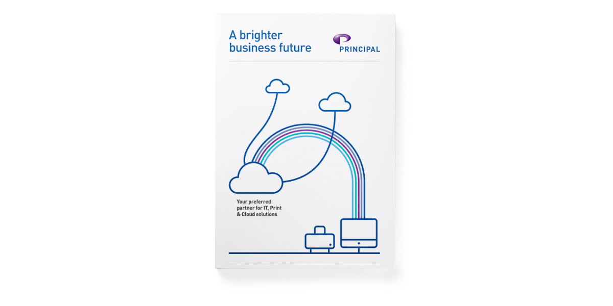 Principal A brighter business future brochure cover
