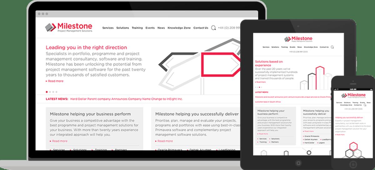Milestone UK Website