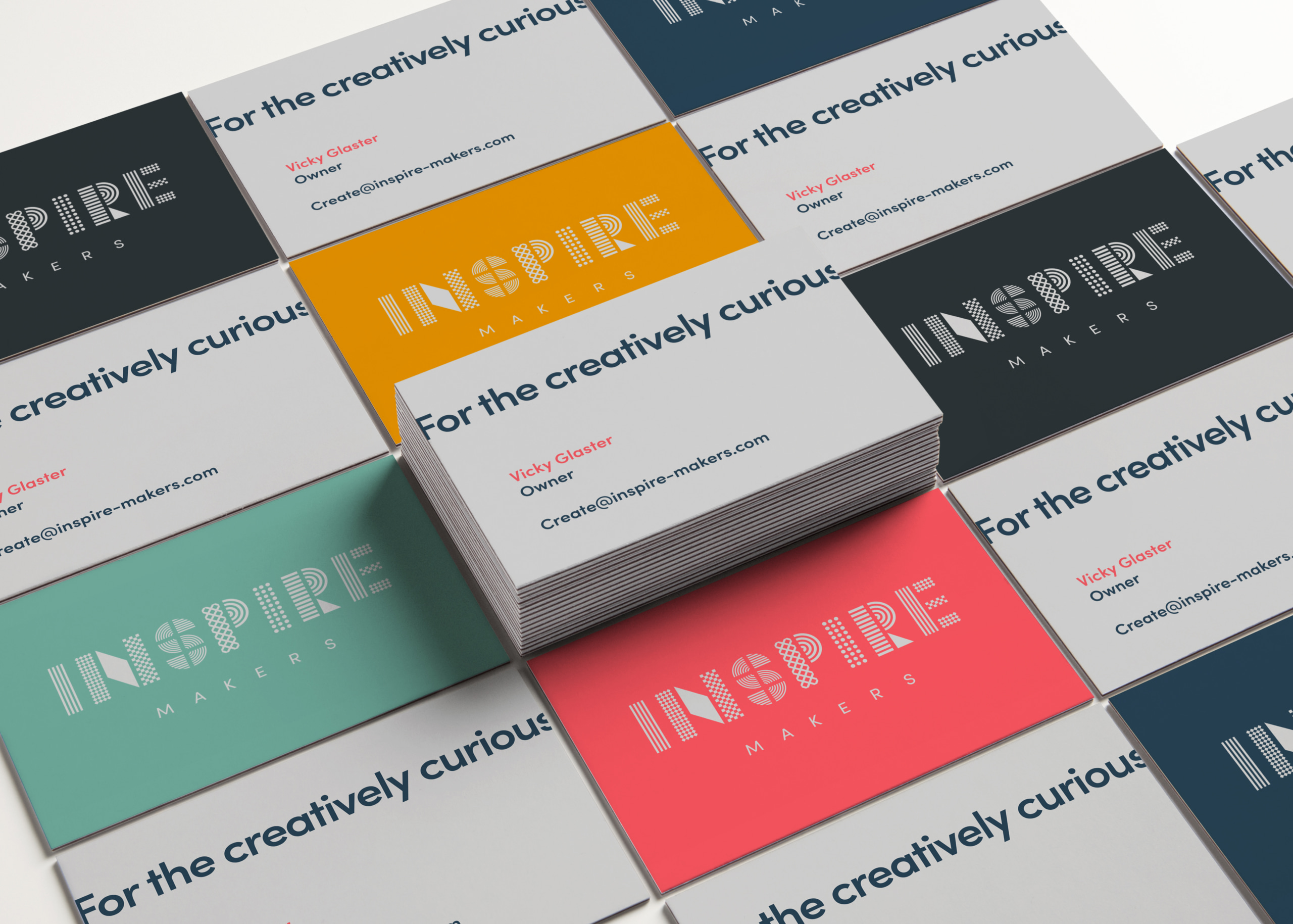 Inspire Makers Business cards