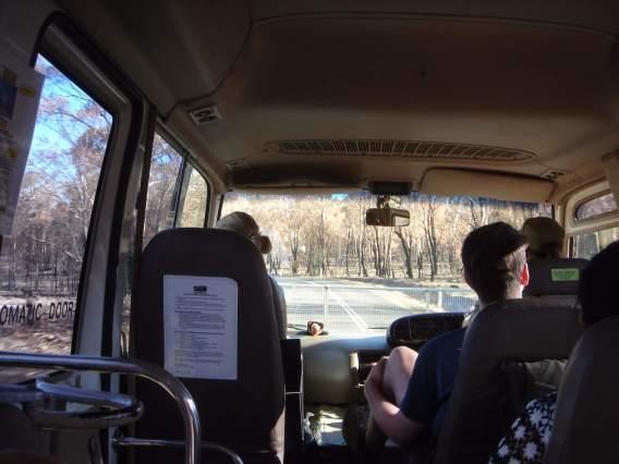 フレシネ国立公園を出発
