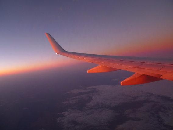 シドニー空港到着