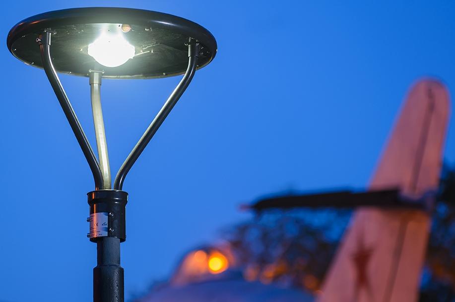 Solar/White LED Lights