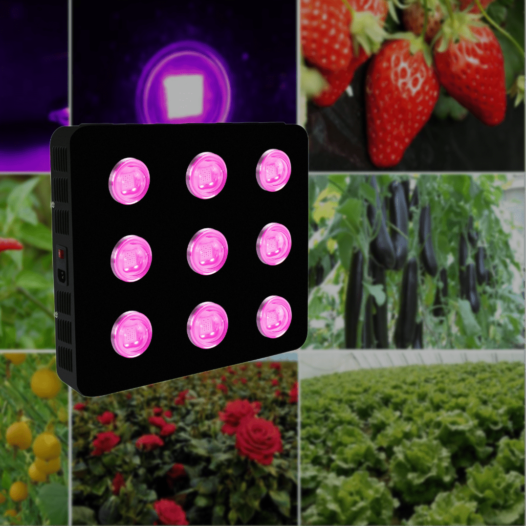 Spider COB LED Growlights Lights