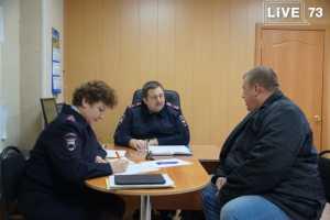 Начальник ульяновской Госавтоинспекции провел выездной  прием граждан Инзенского и Базарносызганского районов