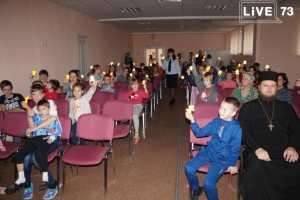 Ульяновские автоинспекторы отметили Всемирный день ребенка  в областной детской клинической больнице