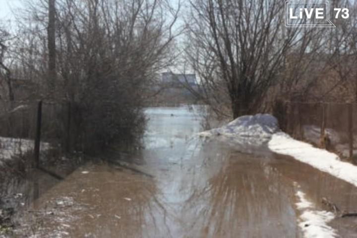 Уровень воды в Сельди повышается. Ситуационный центр Ульяновска держит ситуацию на постоянном контроле